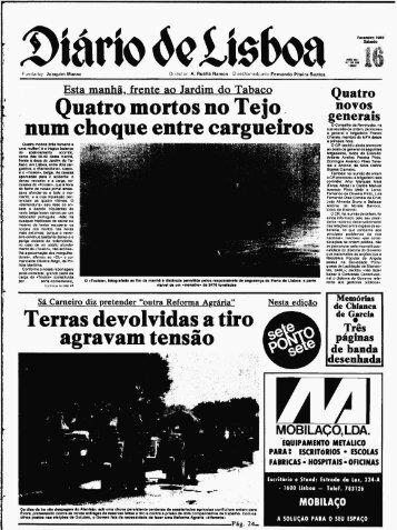 Naufragio Tollan - Câmara Municipal de Lisboa