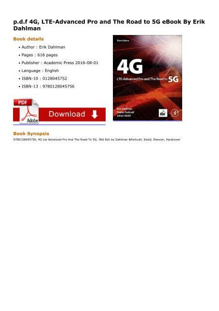 4g lte advanced pro and the road to 5g download