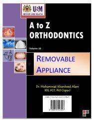 A to Z ORTHODONTICS Volume - Dr. Mohammad Khursheed Alam