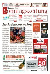 2018-07-22 Bayreuther Sonntagszeitung