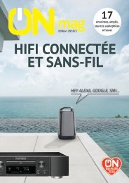 ON mag - Guide Hifi connectée et sans-fil 2018