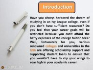 8 Tips to Prepare Essays for Scholarship College