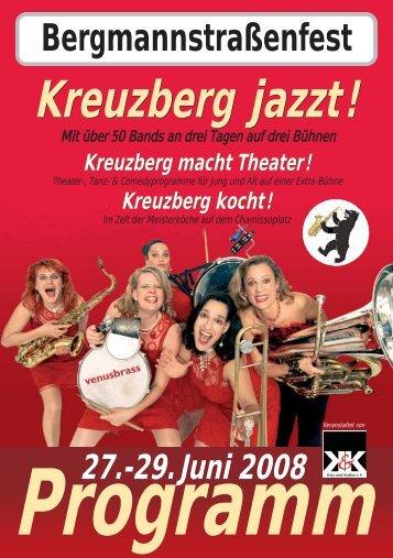 Kreuzberg jazzt! Kreuzberg jazzt! - Kiez und Kultur eV
