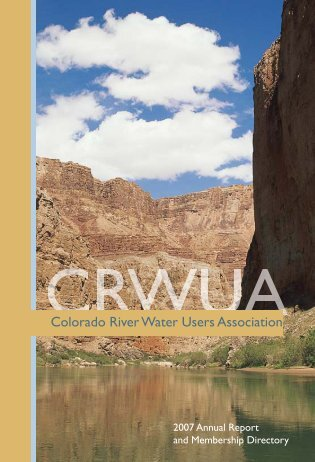 When the well is dry, we know the worth of water. - Colorado River ...