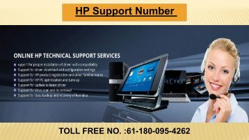 HP Support Number For Australia