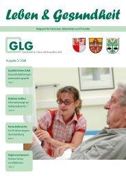 Ausgabe 3/ 2008 - GLG Gesellschaft für Leben und Gesundheit mbH