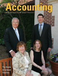 Accounting - College of Business Administration - Marquette University