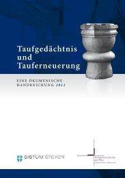 Taufgedächtnis und Tauferneuerung - Evangelische Kirche der Pfalz
