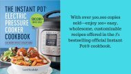 The Instant Pot Electric Pressure Cooker Cookbook_ Easy Recipes for Fast & Healthy Meals