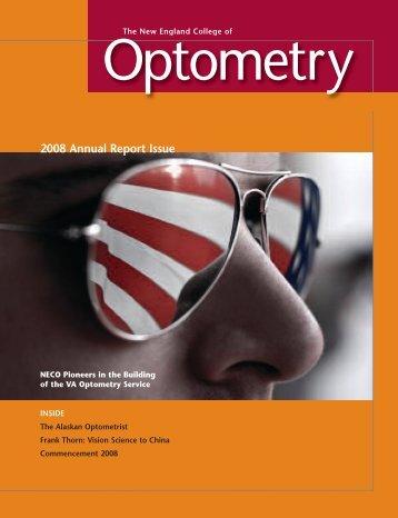 NECO mag.qxd - The New England College of Optometry