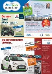 Liebe Kunden und Freunde des Autopark,