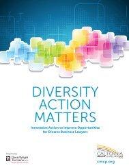 CMCP Diversity Action Matters