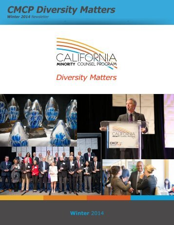 CMCP Diversity Matters - Winter 2014