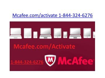 mcafee retail card | 1-844-324-6276 | mcafee.com/activate