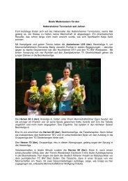 Kreisblatt Beste Saison 2009 - SportOn.de