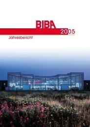 Jahresbericht 2005 - Biba - Universität Bremen