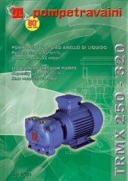 Catalogo TRMX 250 - 320 - Pompetravaini