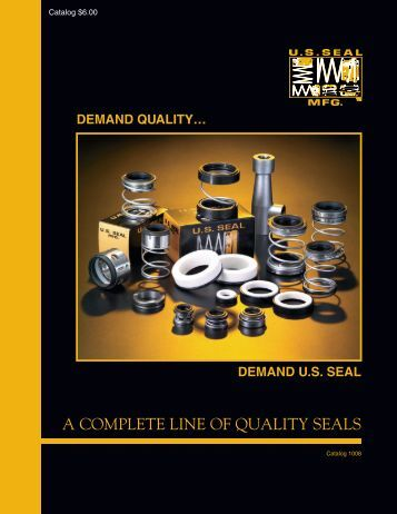 a complete line of quality seals - Mechanical Parts Suppliers ...