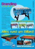 Billard&Kicker Scene Katalog 2008 - Page 3