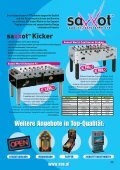 Billard&Kicker Scene Katalog 2008 - Page 7