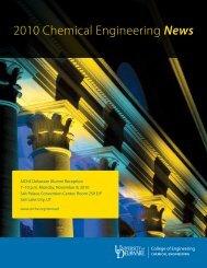 2010 Chemical Engineering News