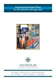 Manufacturing & Repair Plants for LPG Cylinders ... - Austroplan