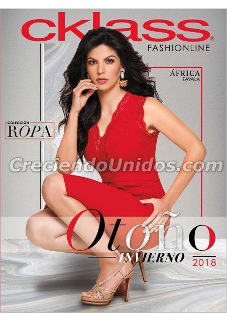641 Catálogo Cklass Fashionline Otoño Invierno 2018 En Usa