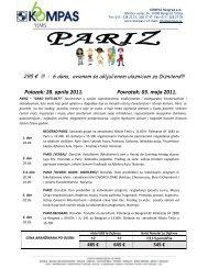 Pariz 28 april-avionom - Kompas
