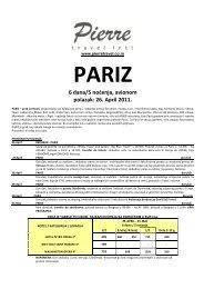 Odštampajte aranžman Pariz, 1. maj u .PDF formatu - Pierre Travel