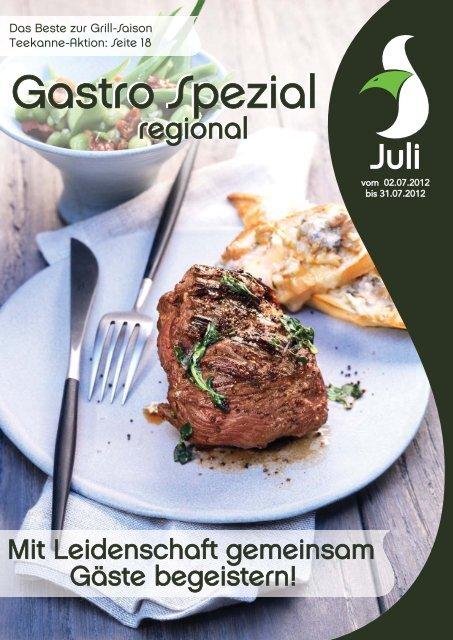 Gastro Spezial Regional - Juli 2012 - Poms-windmann