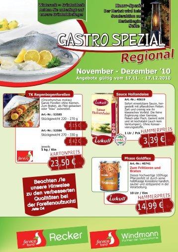 Gastro Spezial Regional - November-Dezember ... - Poms-windmann