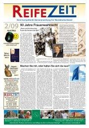 Ausgabe 02/2009 - Reifezeit.net