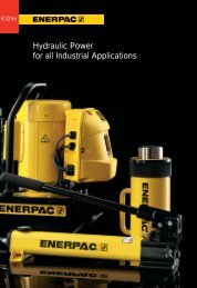 Hydraulic Power for all Industrial Applications