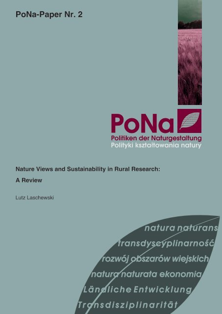 PoNa-Paper Nr. 2