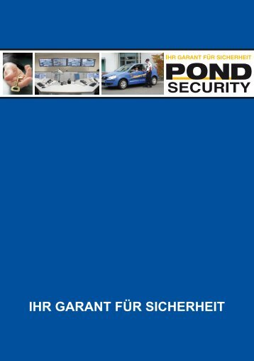 Final S1 - bei POND Security Service GmbH
