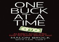 [+]The best book of the month One Buck at a Time: An Insider s Account of How Dollar Tree Remade American Retail  [FULL]