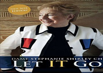 [+][PDF] TOP TREND Let It Go: The Memoirs of Dame Stephanie Shirley  [READ]