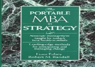 [+]The best book of the month The Portable MBA in Strategy (The Portable MBA Series)  [FREE]
