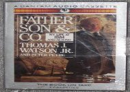 [+][PDF] TOP TREND Father, Son and Co: My Life at IBM and Beyond/Audio Cassettes  [READ]