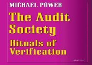 [+][PDF] TOP TREND The Audit Society: Rituals of Verification [PDF]