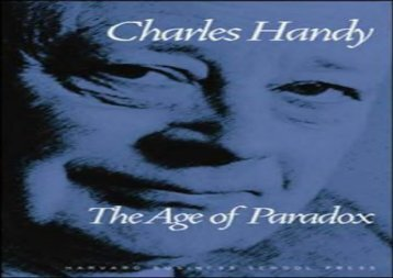 [+][PDF] TOP TREND The Age of Paradox  [FULL]