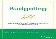 [+][PDF] TOP TREND Budgeting: Technology, Trends, Software Selection, and Implementation  [DOWNLOAD]