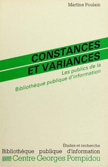 ~Centre Georges Pompidou - éditions de la Bibliothèque publique d ...