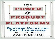 [+][PDF] TOP TREND The Power of Product Platforms  [READ]