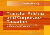 [+][PDF] TOP TREND Transfer Pricing and Corporate Taxation: Problems, Practical Implications and Proposed Solutions  [NEWS]