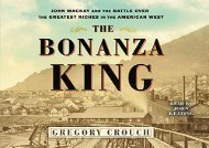 [+][PDF] TOP TREND The Bonanza King: John Mackay and the Battle over the Greatest Fortune in the American West  [READ]