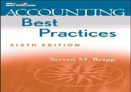 [+]The best book of the month Accounting Best Practices (Wiley Best Practices) [PDF]