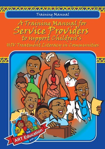 A Training Manual for Service Providers to support - SAfAIDS