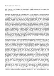 Essay: Monika Bartholomé - Fait divers von Dorothée Bauerle