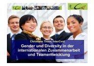 Gender und Diversity in der internationalen Zusammenarbeit und ...